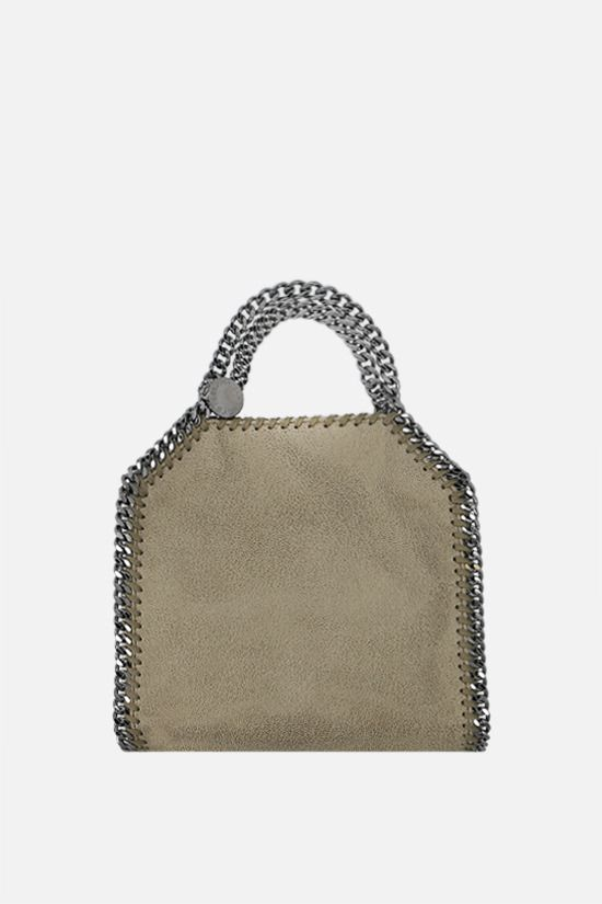 STELLA McCARTNEY: Falabella tiny tote in Shaggy Deer Color Brown_1