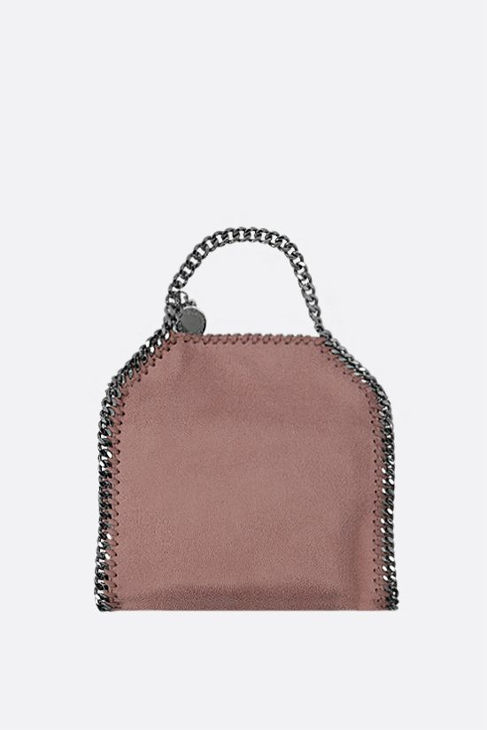 STELLA McCARTNEY: Falabella tiny tote in Shaggy Deer Color Pink_1