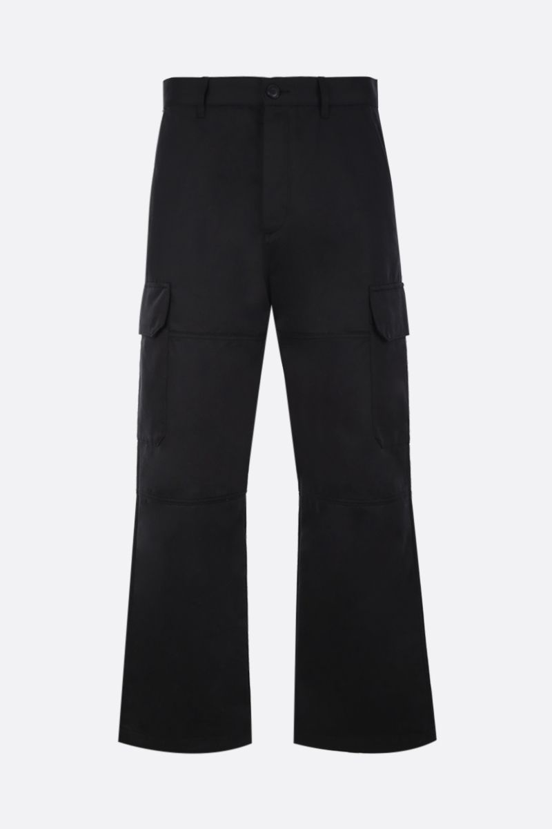 Eye/LOEWE/Nature: pantalone cargo Eye/Loewe/Nature in cotone Colore Nero_1