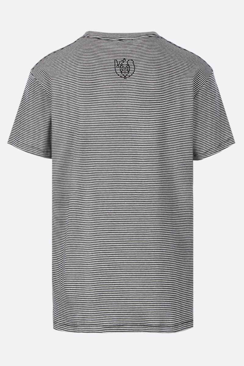 Eye/LOEWE/Nature: Eye/Loewe/Nature striped cotton t-shirt Color Black_2