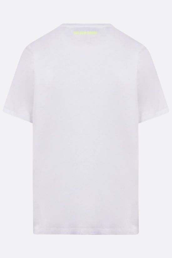 GOLDEN GOOSE DELUXE BRAND: Adamo cotton t-shirt Color White_2