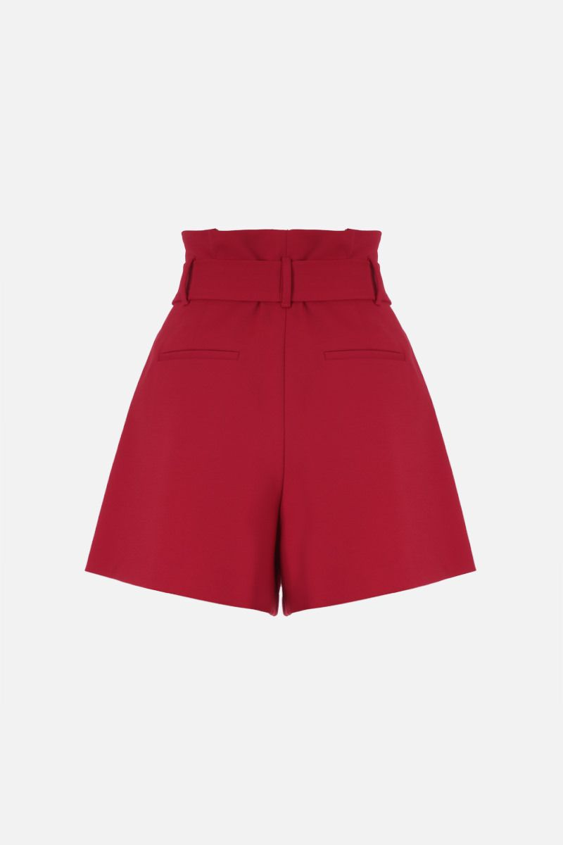 RED VALENTINO: cady darted shorts Color Red_2
