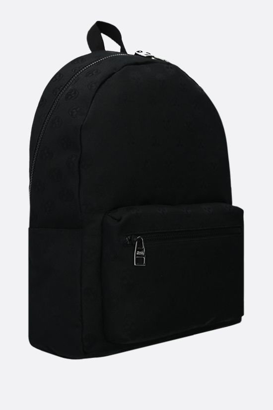 ALEXANDER McQUEEN: Metropolitan nylon backpack Color Black_2