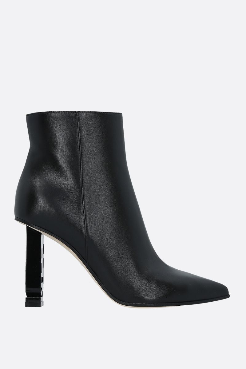 SERGIO ROSSI: Sergio Super Heel soft nappa booties Color Black_1