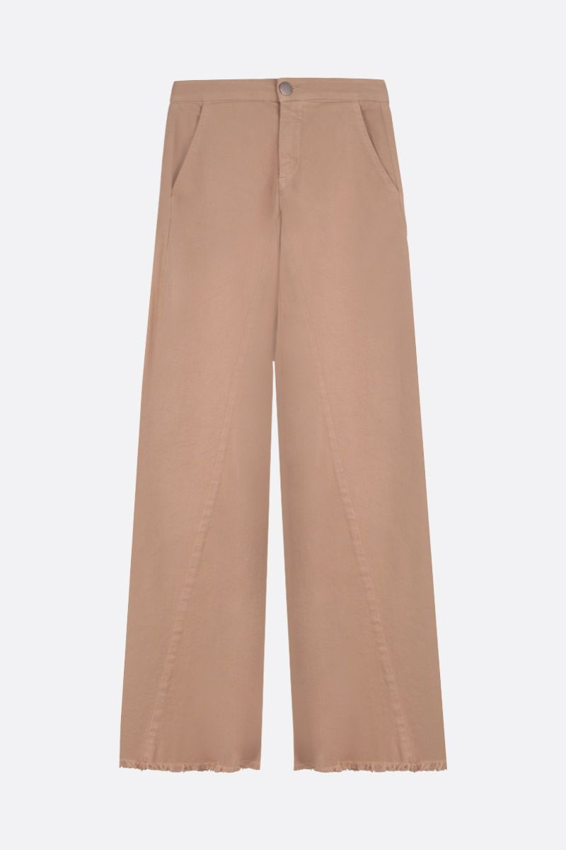FEDERICA TOSI: flare jeans Color Neutral_1