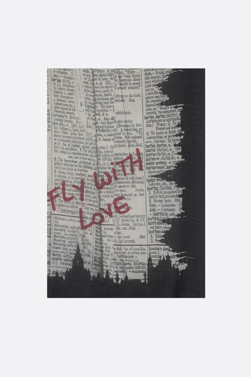 FALIERO SARTI: Fly with Love modal cashmere blend scarf Color Multicolor_1
