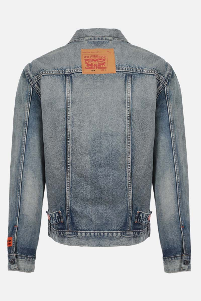 HERON PRESTON: Levi's denim jacket Color Multicolor_2