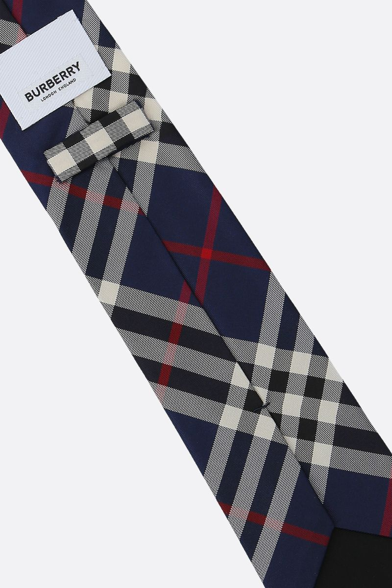 BURBERRY: Manston silk tie Color Blue_2