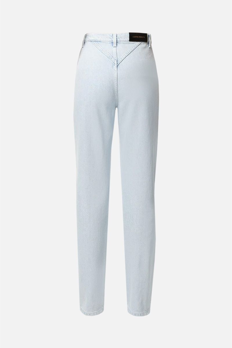 ALBERTA FERRETTI: jeans regular-fit Colore Blu_2