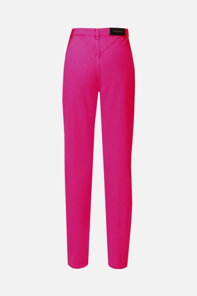 ALBERTA FERRETTI: jeans regular-fit Colore Rosa_2