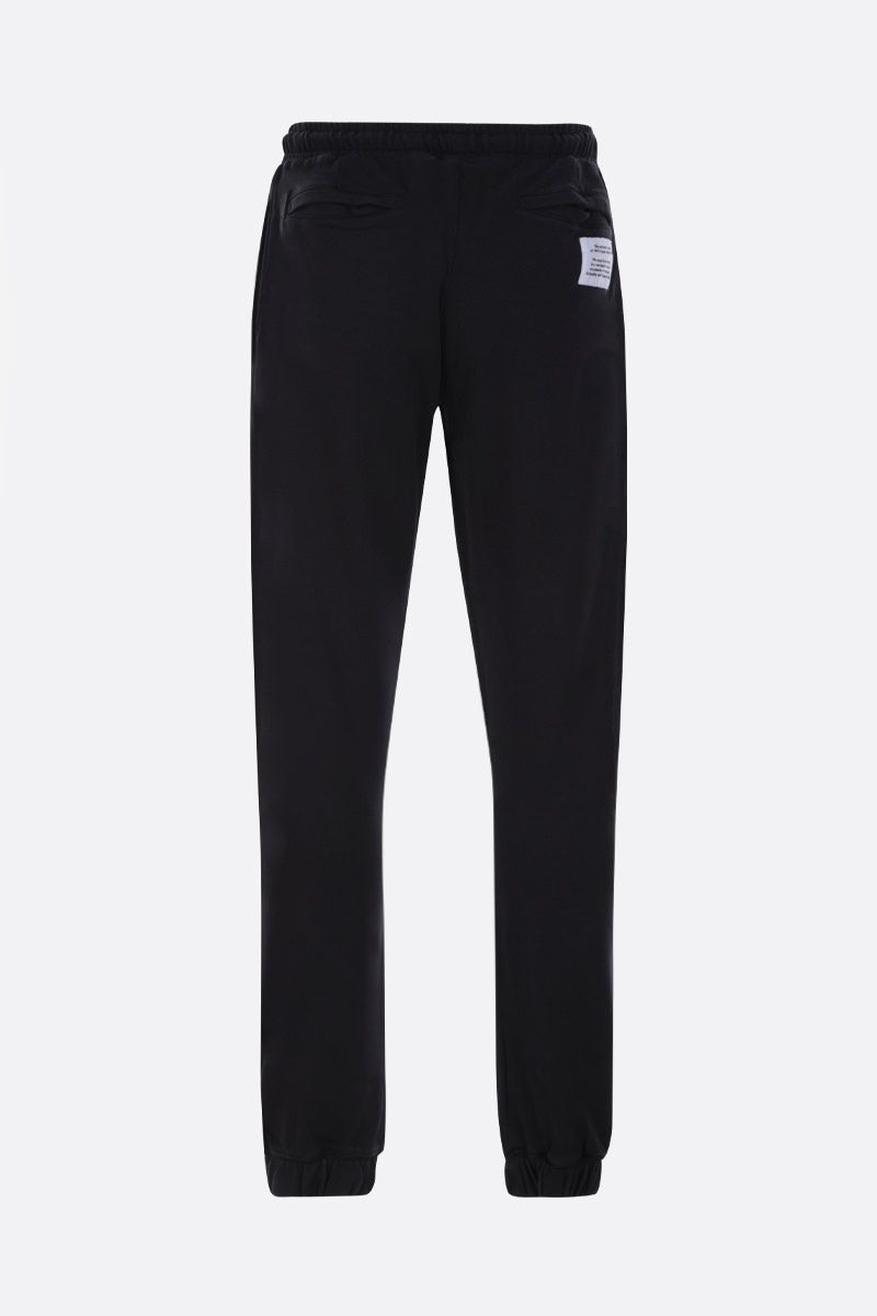HERON PRESTON: CTNMB Spray cotton joggers Color Black_2