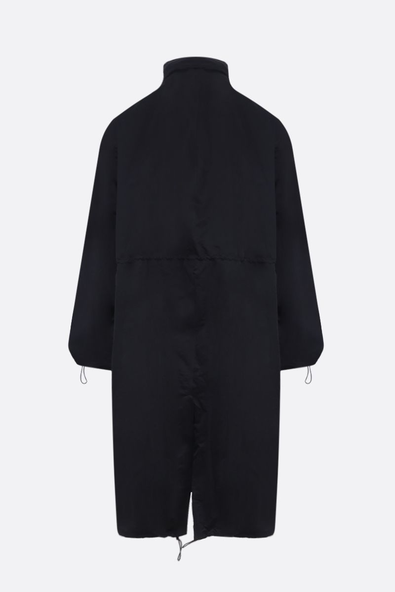 BOTTEGA VENETA: nylon oversized parka Color Black_2