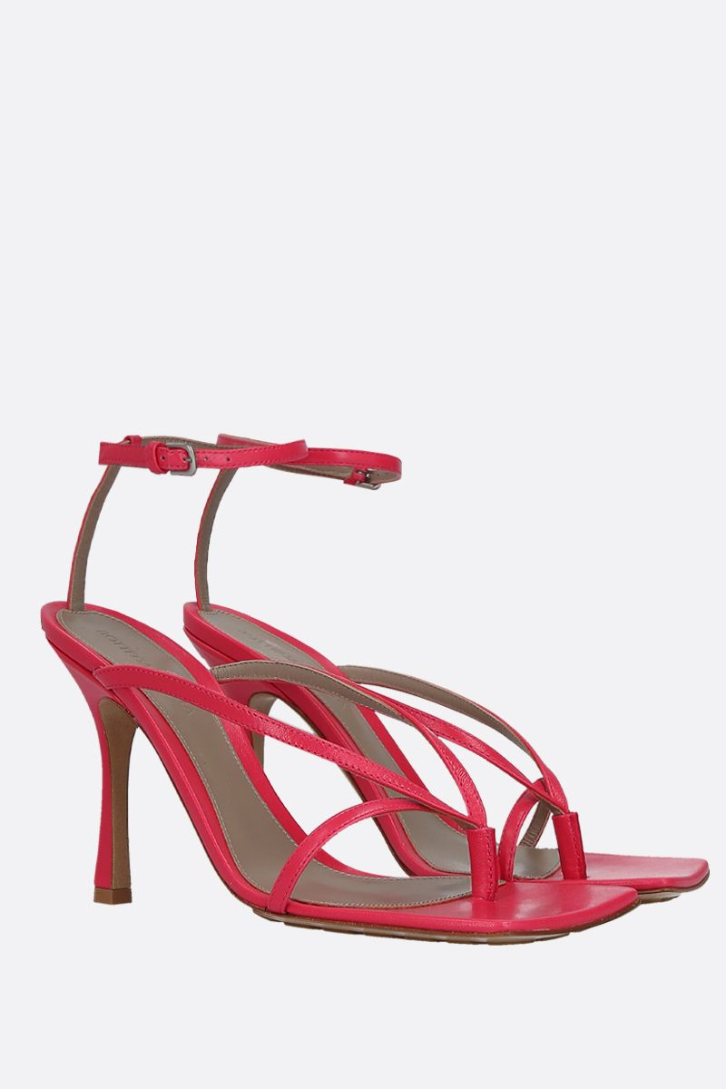 BOTTEGA VENETA: nappa thong sandals_2