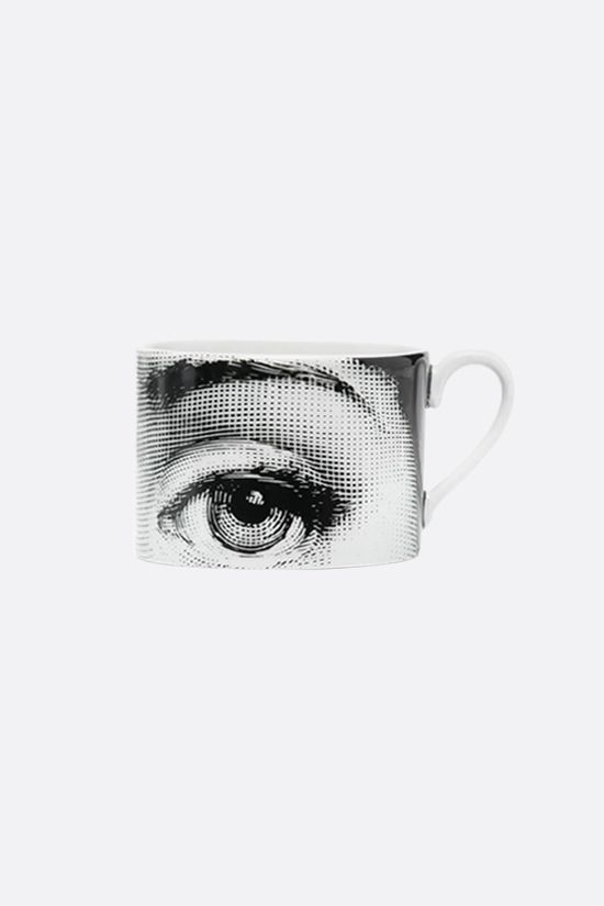 FORNASETTI: set of six Tema e Variazioni N° 1 tea cups Color Grey_1