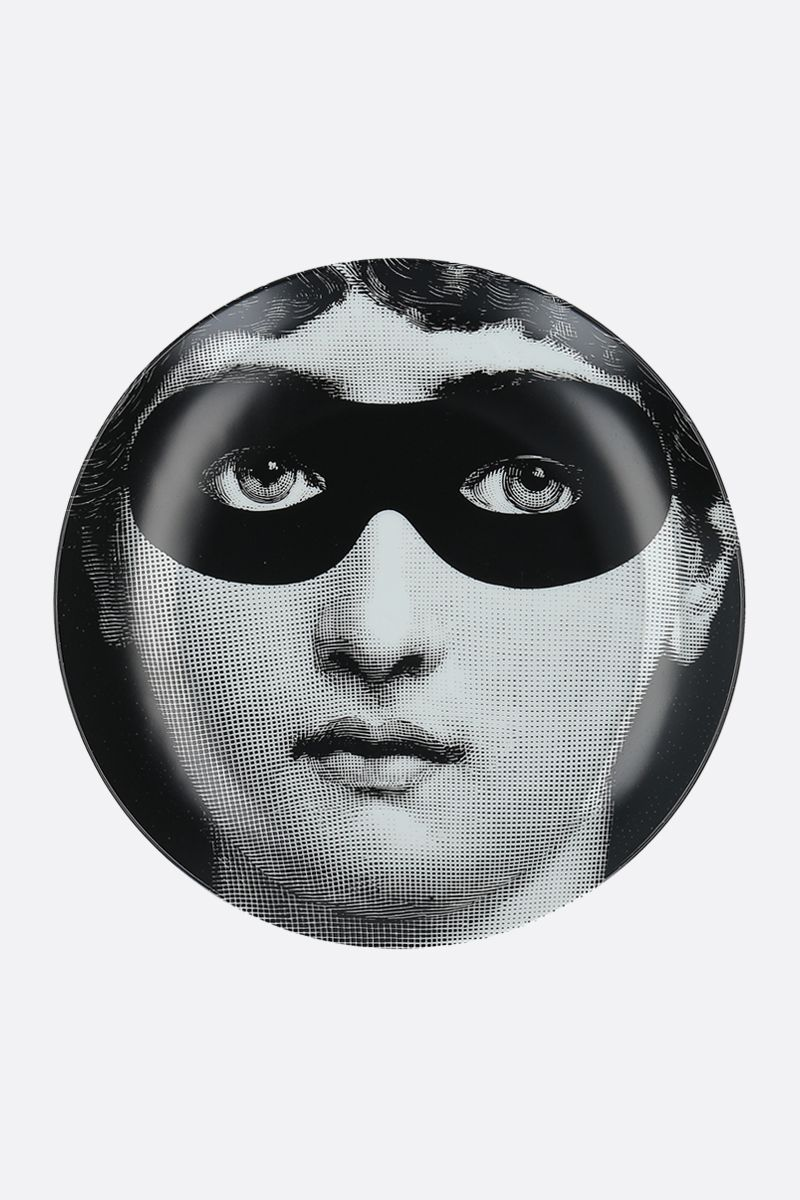 FORNASETTI: Tema e Variazioni N°22 ceramic wall plate Color Grey_1