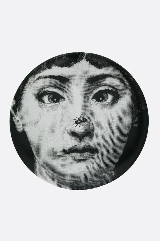 FORNASETTI: Tema e Variazioni N° 363 ceramic wall plate Color Grey