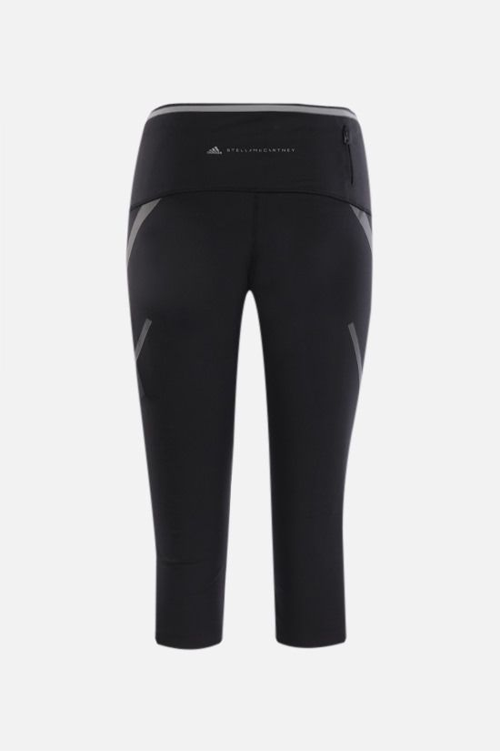 ADIDAS BY STELLA McCARTNEY: Primeblue technical jersey leggings Color Black_2