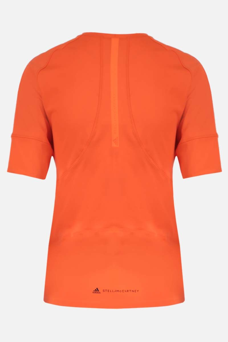 ADIDAS BY STELLA McCARTNEY: t-shirt Truepurpose in jersey stretch Colore Arancione_2