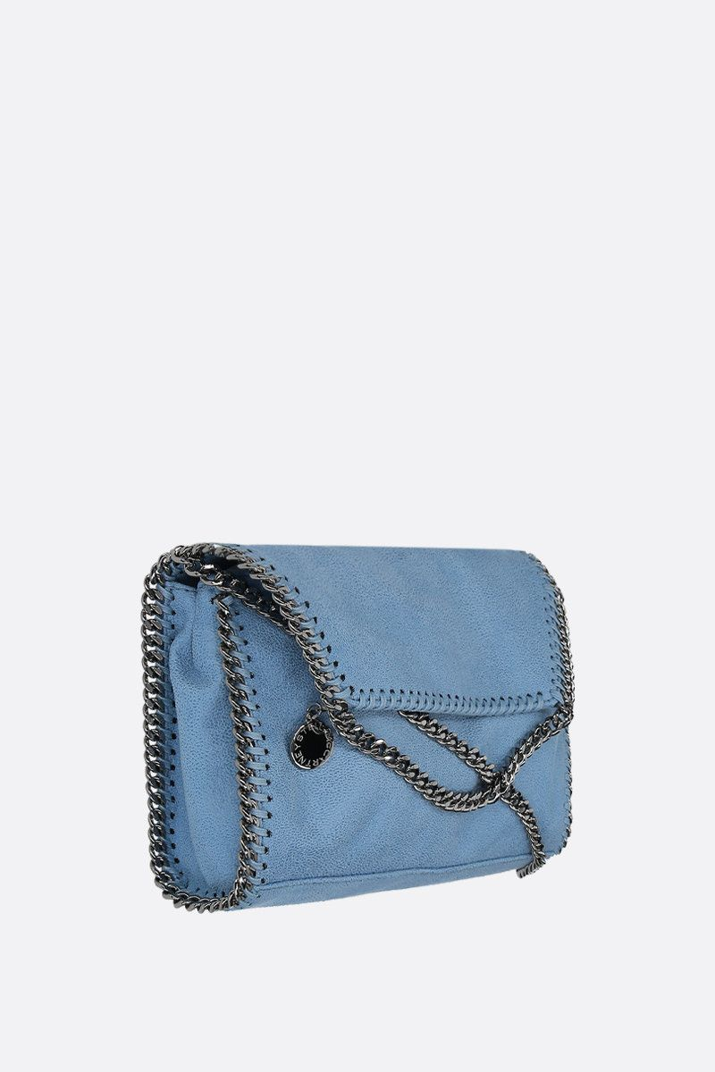 STELLA McCARTNEY: Falabella shoulder bag in Shaggy Deer Color Blue_2