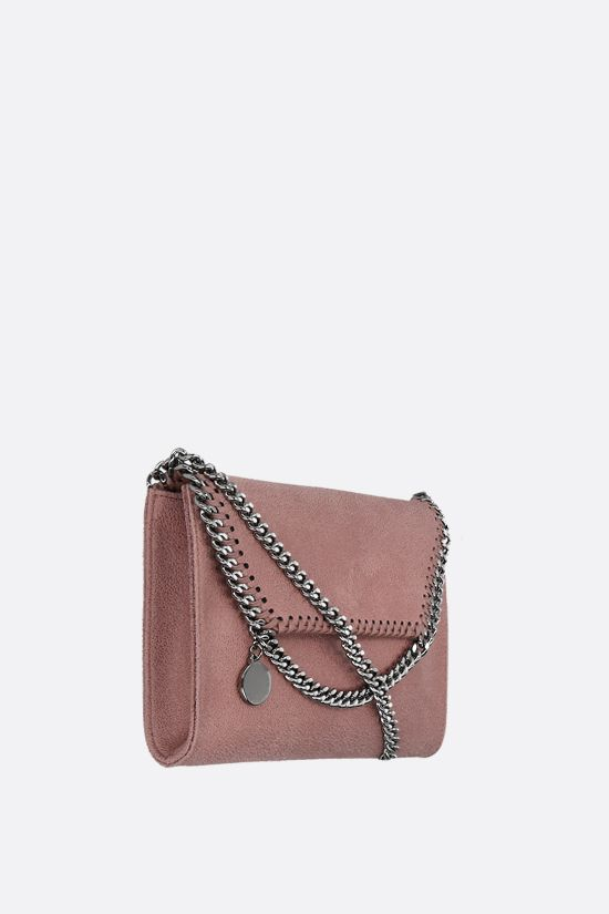 STELLA McCARTNEY: Falabella micro shoulder bag in Shaggy Deer Color Pink_2