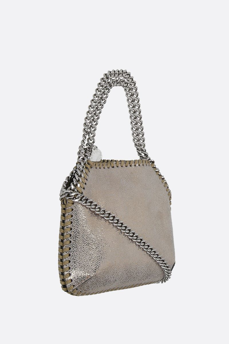 STELLA McCARTNEY: Falabella mini shoulder bag in Shaggy Deer_2