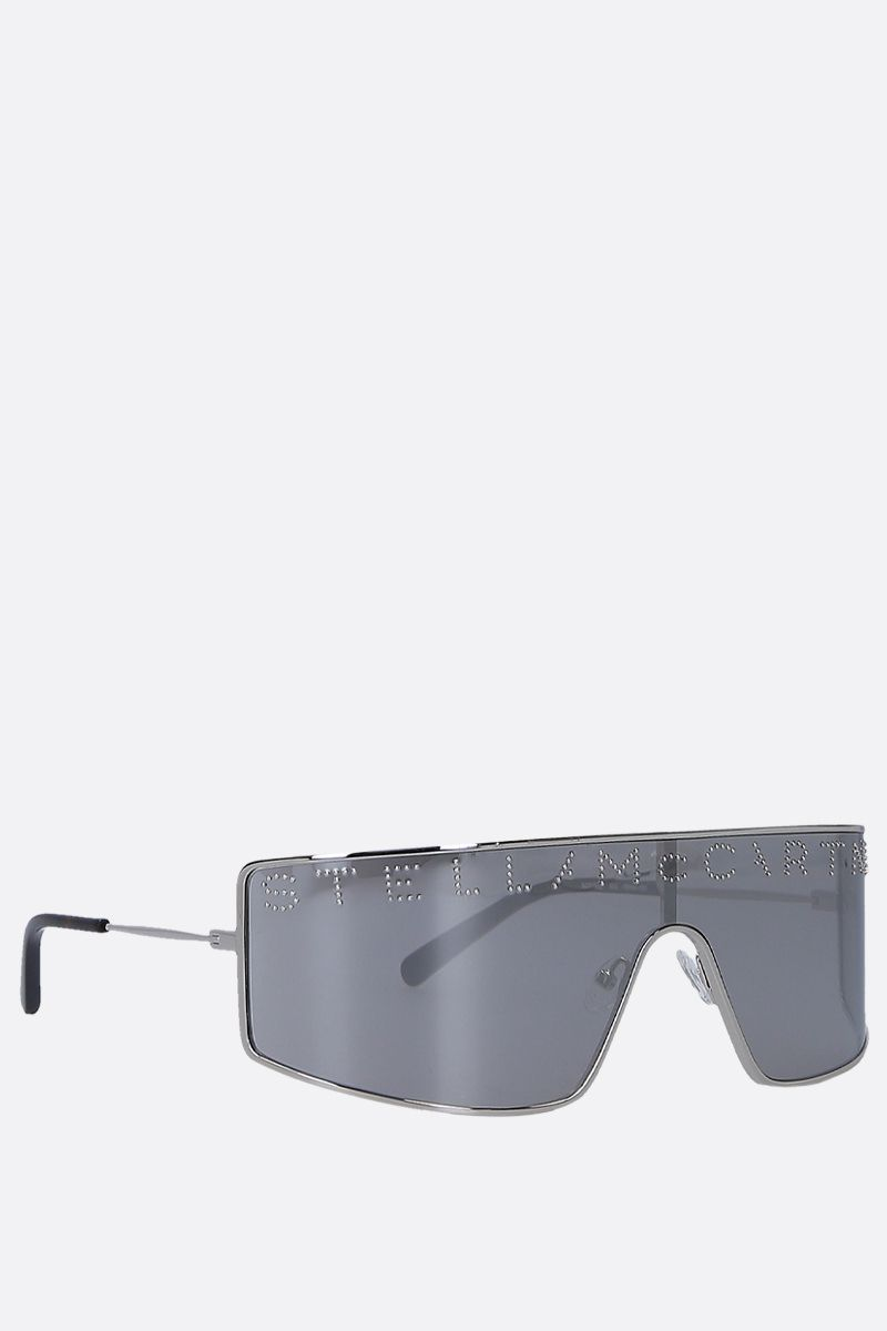 STELLA McCARTNEY: metal mask sunglasses Color Multicolor_2