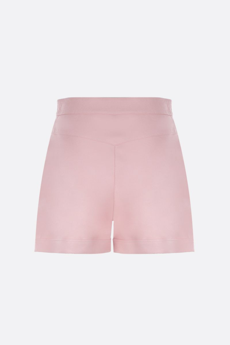 STELLA McCARTNEY: Alter Nappa high-waisted shorts Color Pink_2
