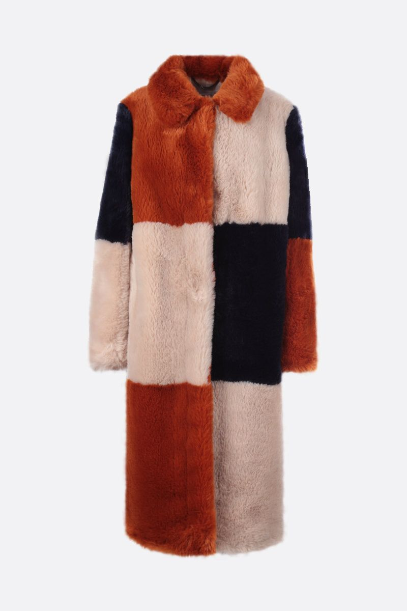 STELLA McCARTNEY: Adalyn faux fur coat_1