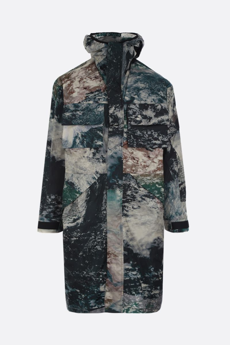 STELLA McCARTNEY: Murphy printed ECONYL® parka Color Black_1