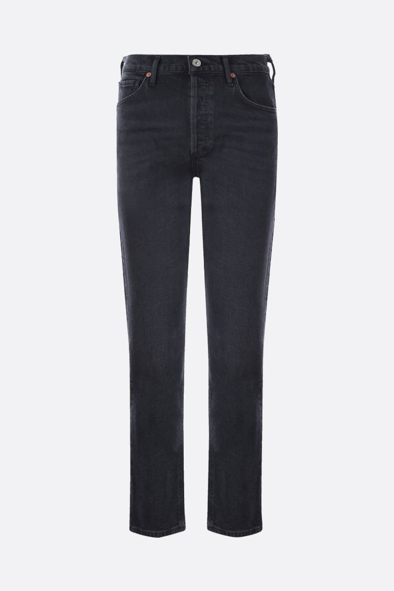 CITIZENS OF HUMANITY: Charlotte straight-leg jeans Color Black_1