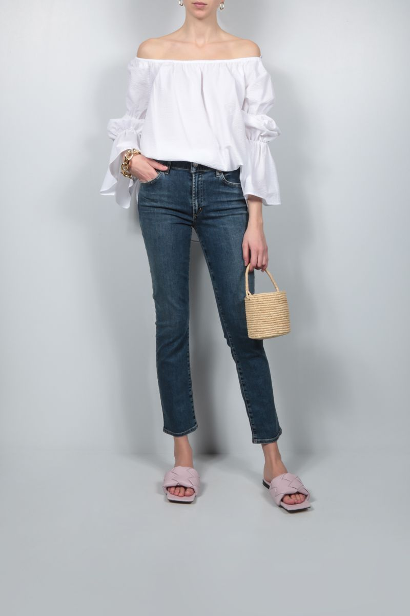 CITIZENS OF HUMANITY: jeans slim-fit Skyla Colore Blu_2