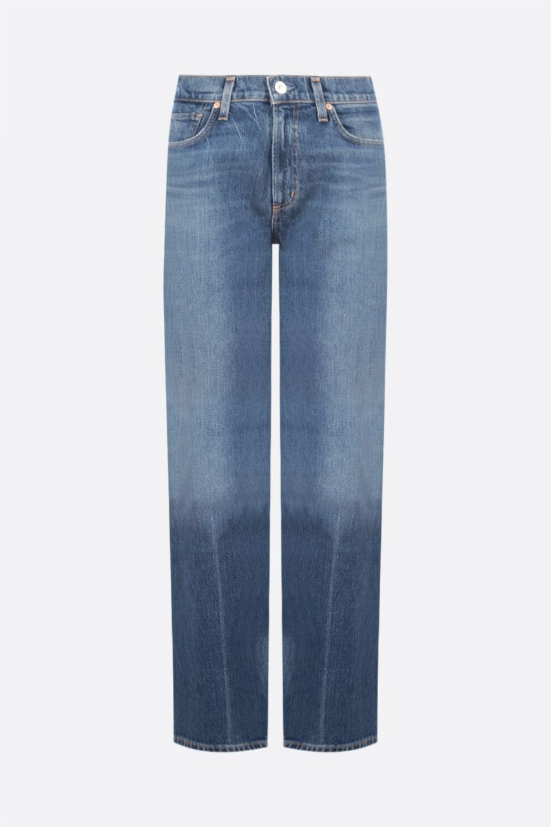 CITIZENS OF HUMANITY: jeans a gamba dritta Daphne Colore Blu_1