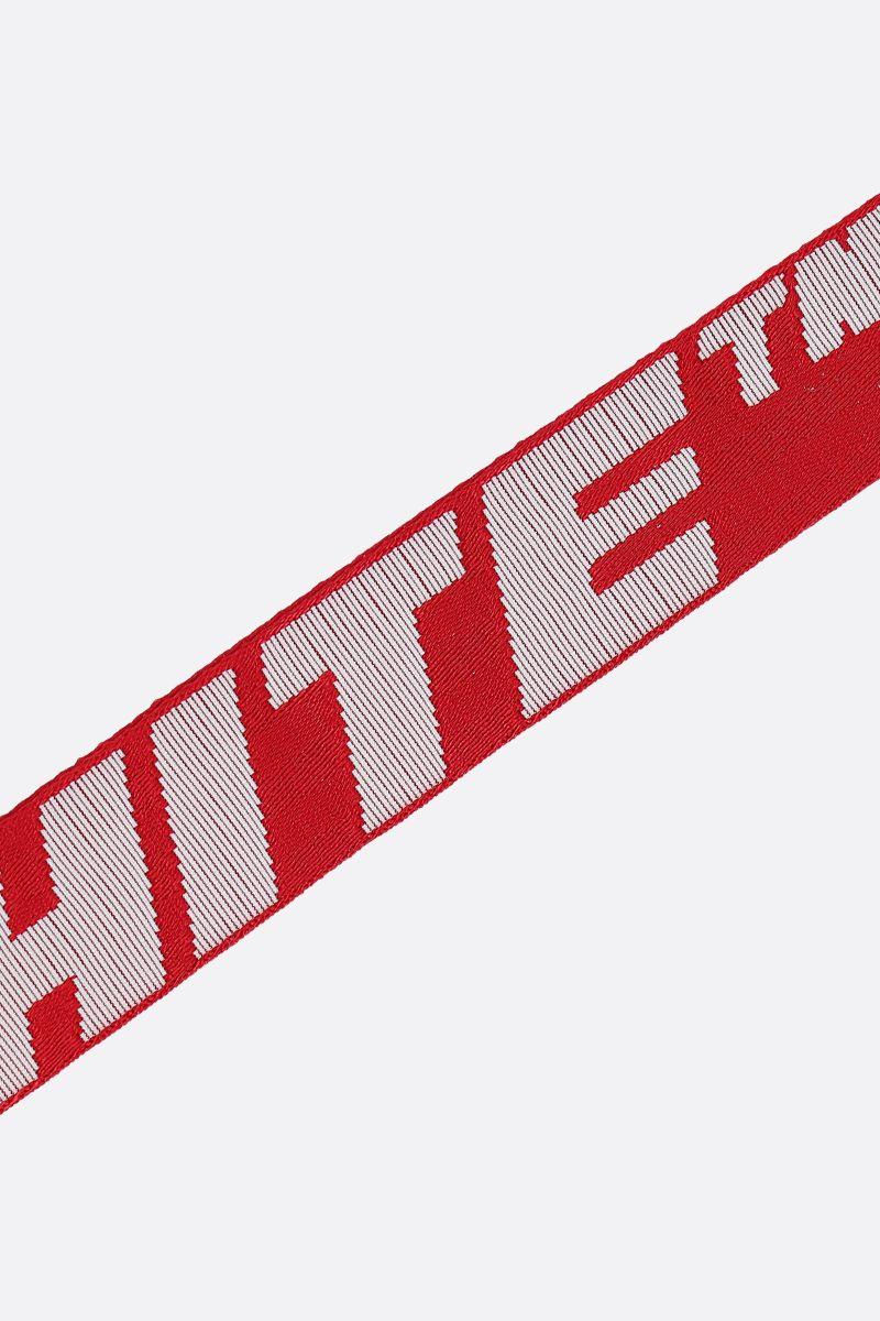 OFF WHITE: Industrial 2.0 logoed fabric key holder Color Multicolor_2