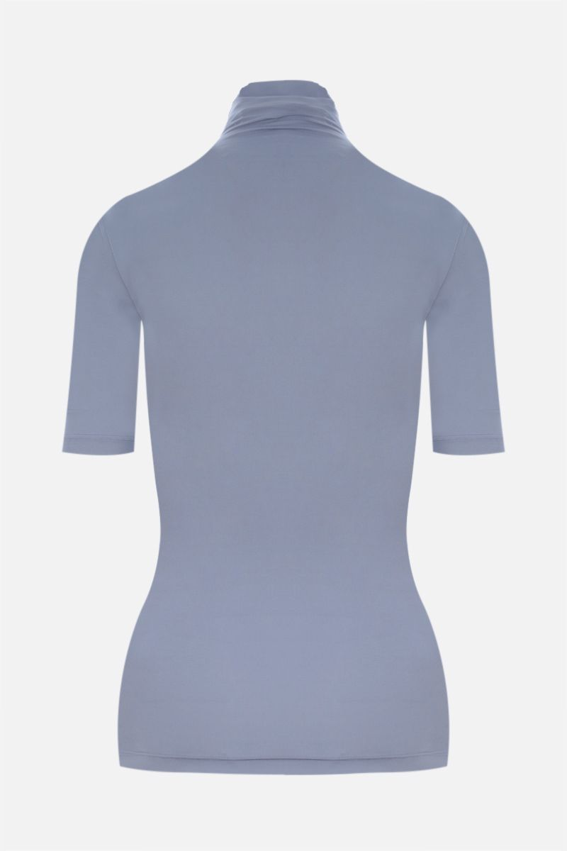 OFF WHITE: Second Skin jersey top Color Grey_2