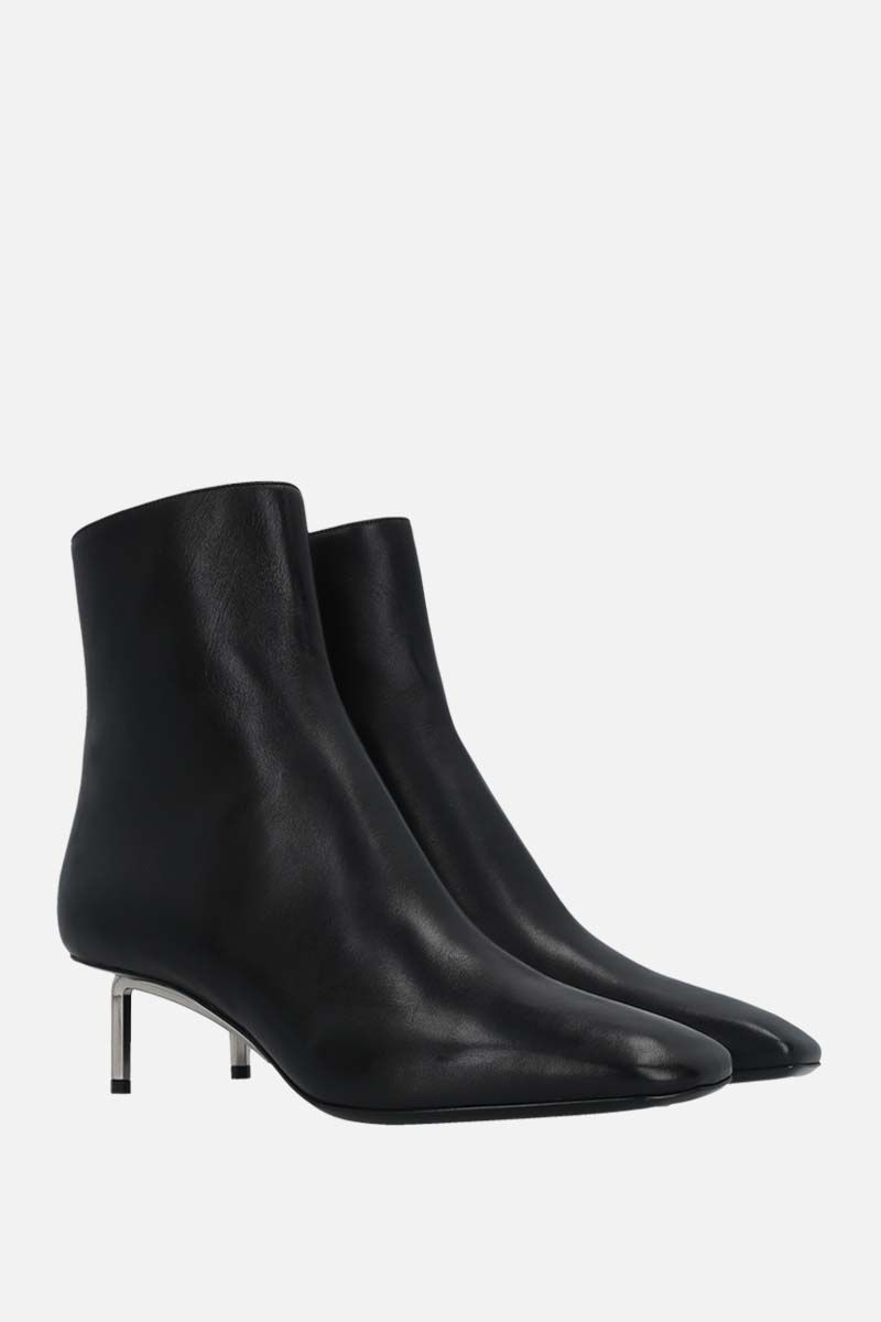 OFF WHITE: Allen nappa ankle boots Color Black_2