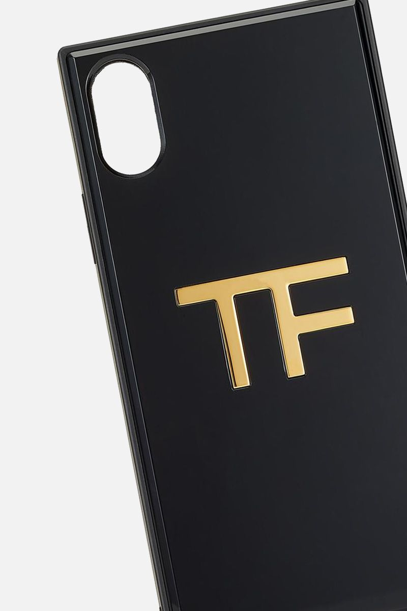 TOM FORD: plexiglass TF IPHONE case Color Black_2