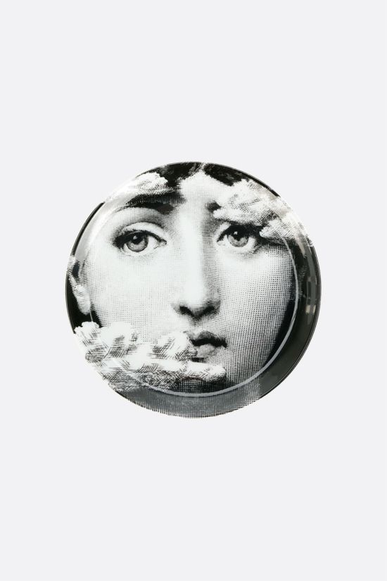 FORNASETTI: Tema e Variazioni n° 139 ceramic coaster Color Grey