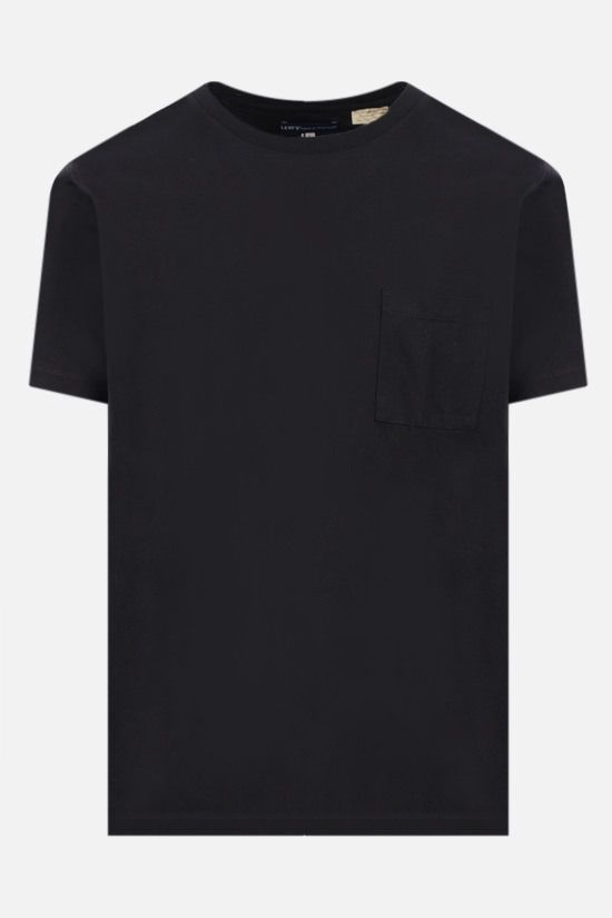 LEVI'S MADE & CRAFTED: pocket-detailed cotton t-shirt Color Black_1
