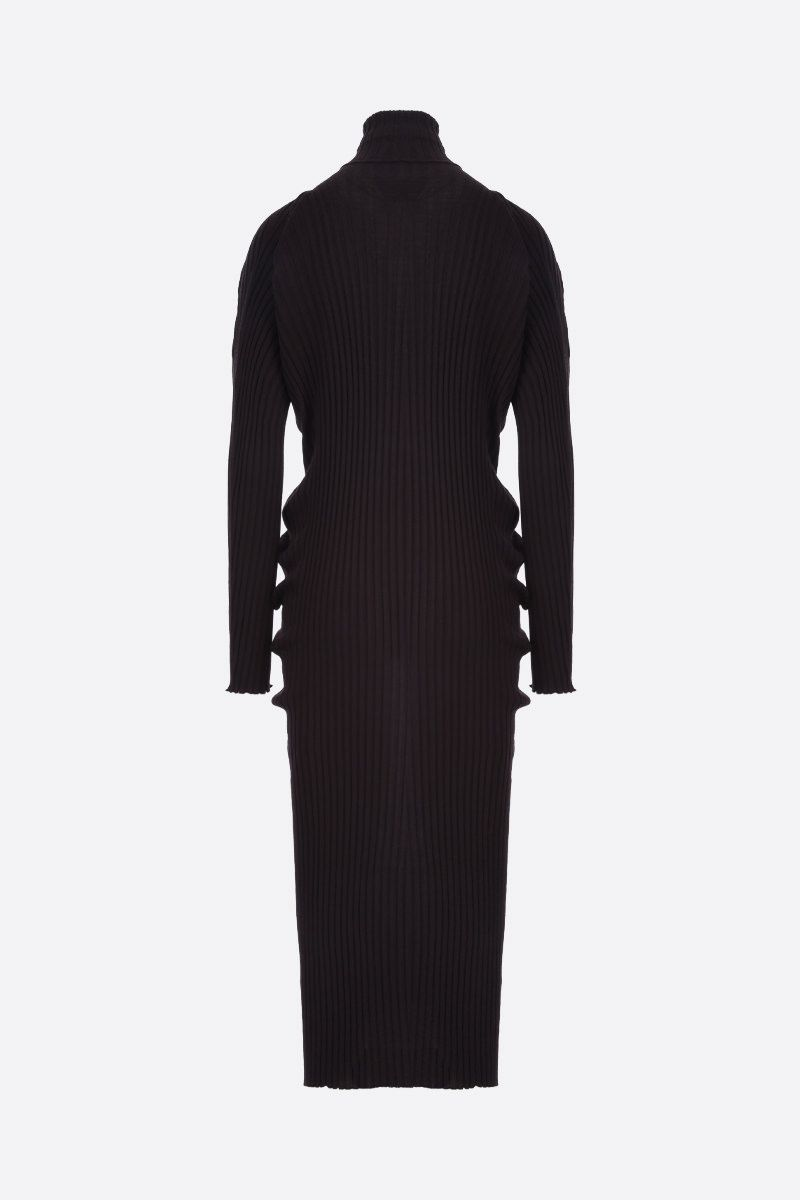 BOTTEGA VENETA: ribbed wool midi dress_2