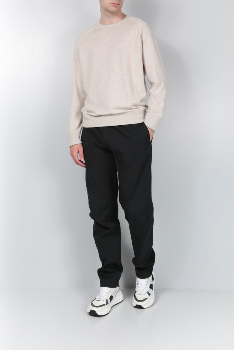 BOTTEGA VENETA: techical cotton joggers Color Black_2