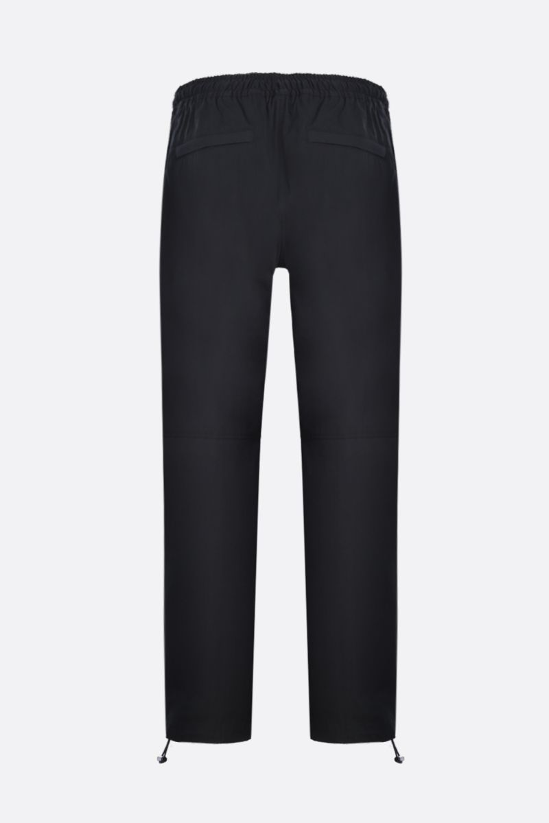 BOTTEGA VENETA: techical cotton joggers Color Black_3