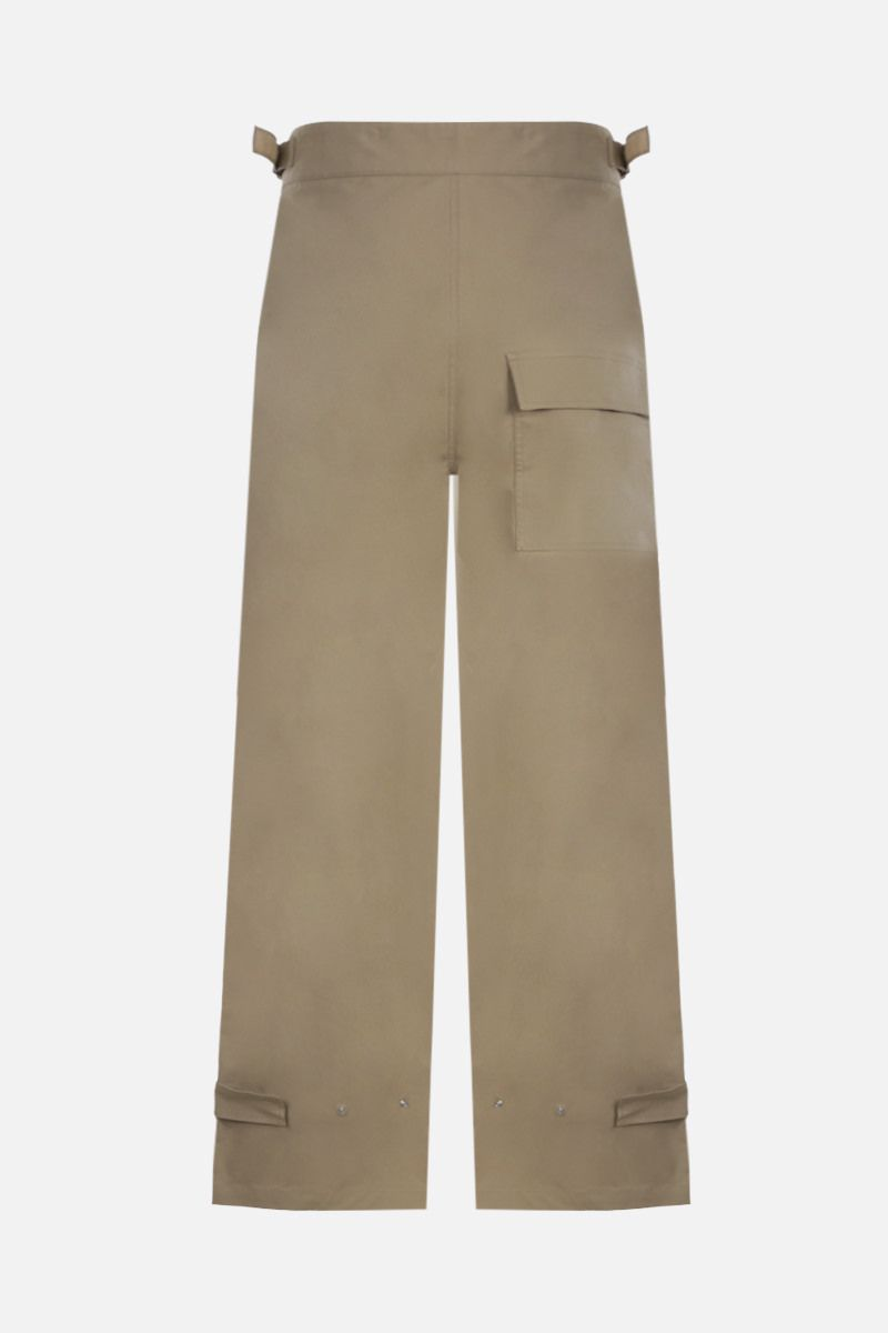 BOTTEGA VENETA: stretch cotton cargo pants Color Neutral_2