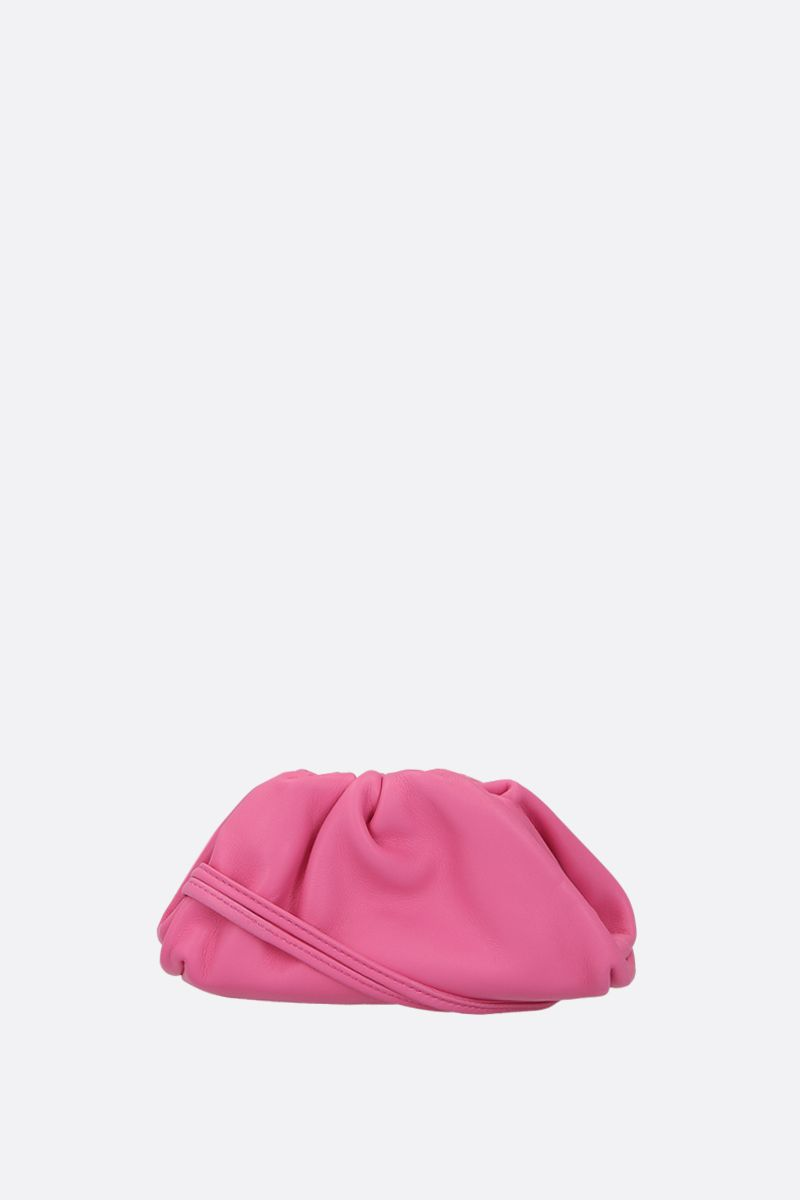 BOTTEGA VENETA: smooth leather coin purse Color Pink_1
