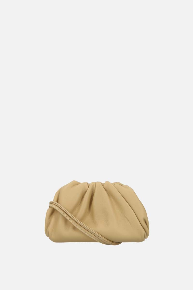 BOTTEGA VENETA: smooth leather coin purse Color Gold_1