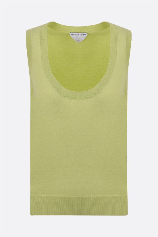 BOTTEGA VENETA: cashmere blend top Color Multicolor_1