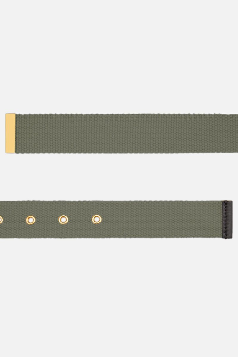 VALENTINO GARAVANI: VLOGO tape Belt Color Green_2