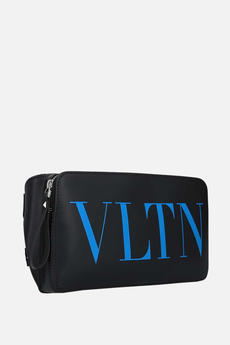 VALENTINO GARAVANI: VLTN smooth leather belt bag_2