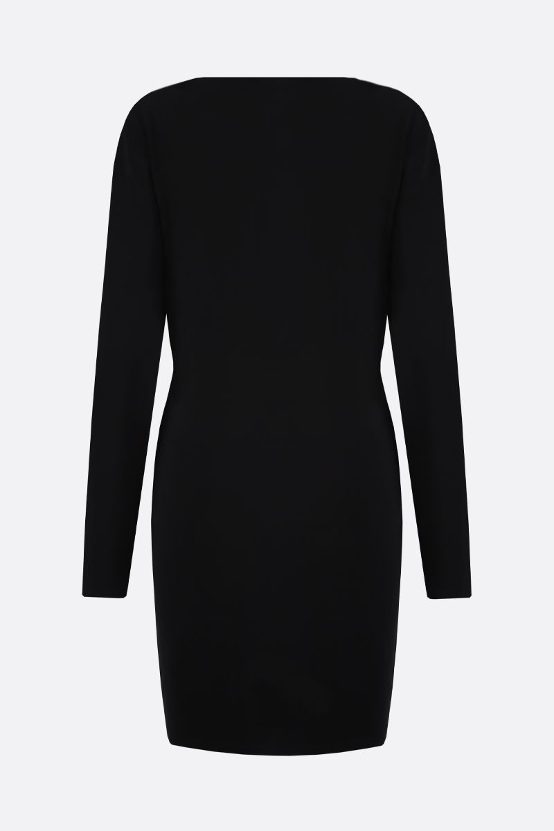 GAUGE81: Krasnodar jersey wrap dress Color Black_2