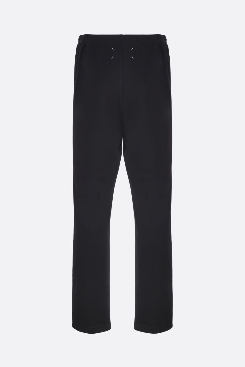 MAISON MARGIELA: technical cotton joggers Color Black_2