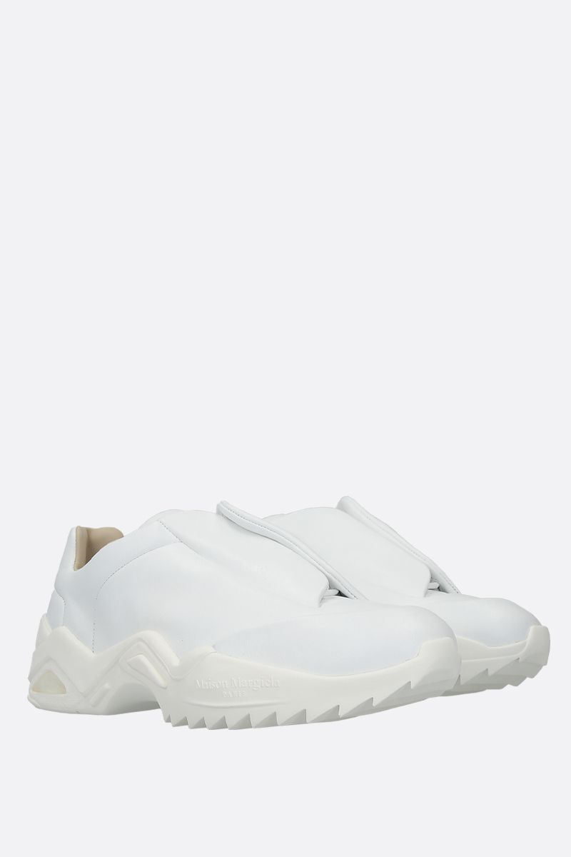 MAISON MARGIELA: Future smooth leather sneakers Color White_2